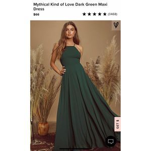 "Lulus ""Mythical Kind of Love"" Dress"